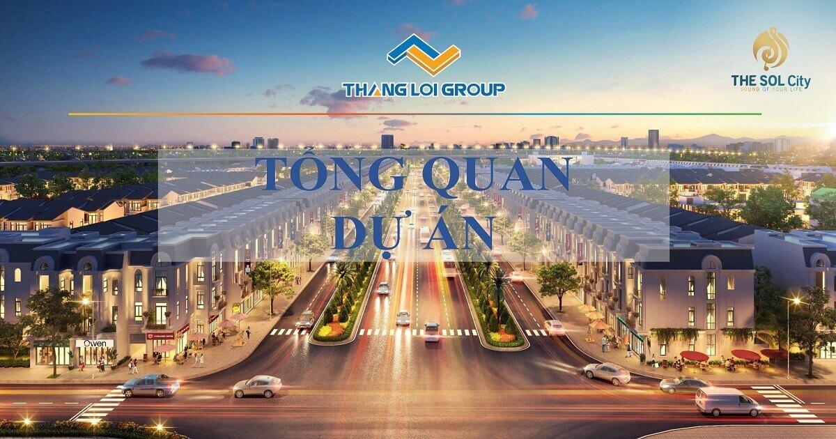 tổng quan dự án the sol city Bình Chánh