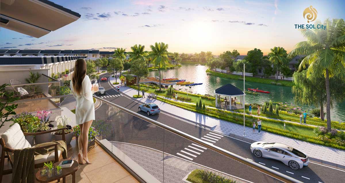 View Kênh Dự Án The Sol City Bình Chánh